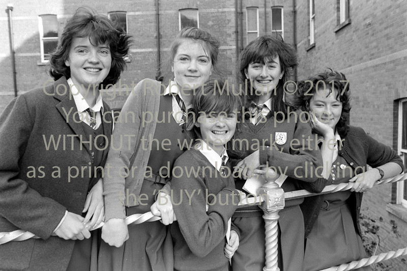 Students from the Dominican College, Wicklow - circa 1980s
