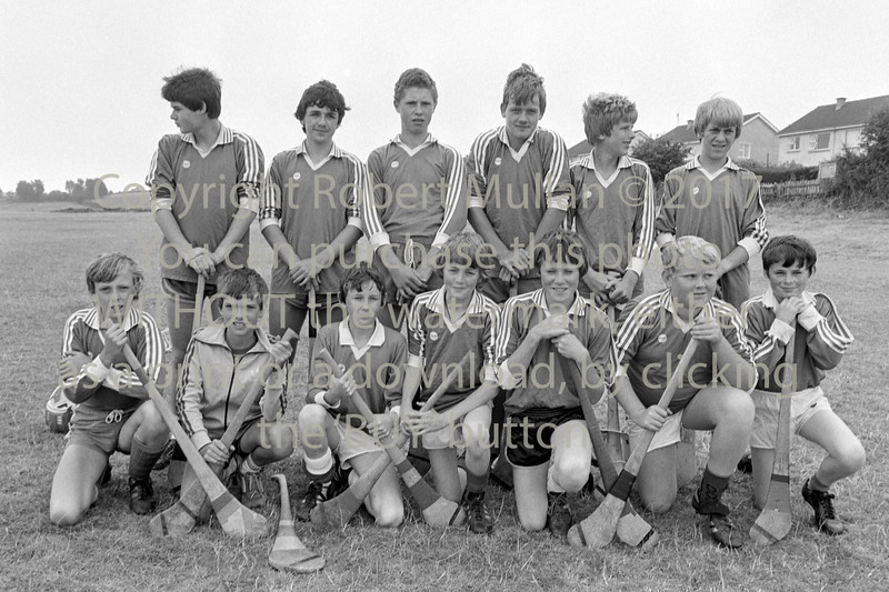 Young hurlers Wicklow.  Circa 1993