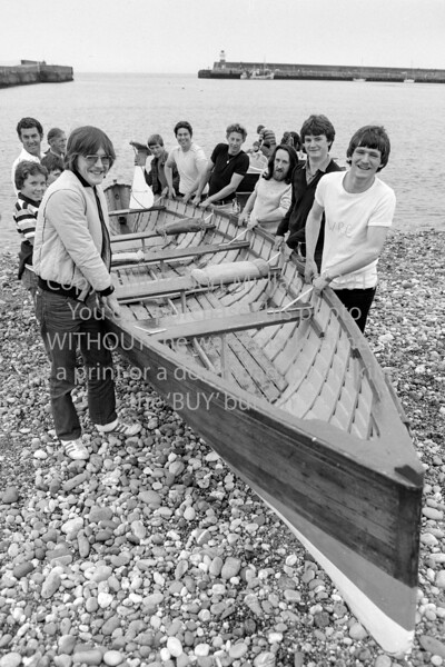 Wicklow rowers.  Date unknown