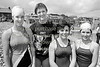 Junior swimmers.  Circa 1980s