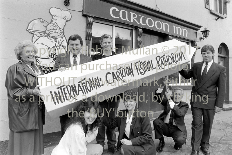 Launching of Rathdrum's Cartoon Festival - 1980s/90s
