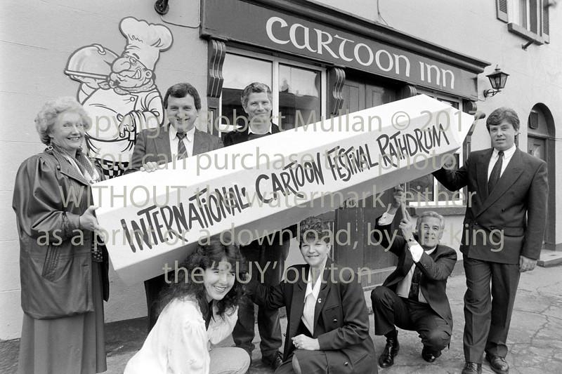 Launching of Rathdrum's Cartoon Festival - 1980s/90s