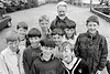 Teacher, Andrew Cornyn with a group of Wicklow Boys - 1980s/90s