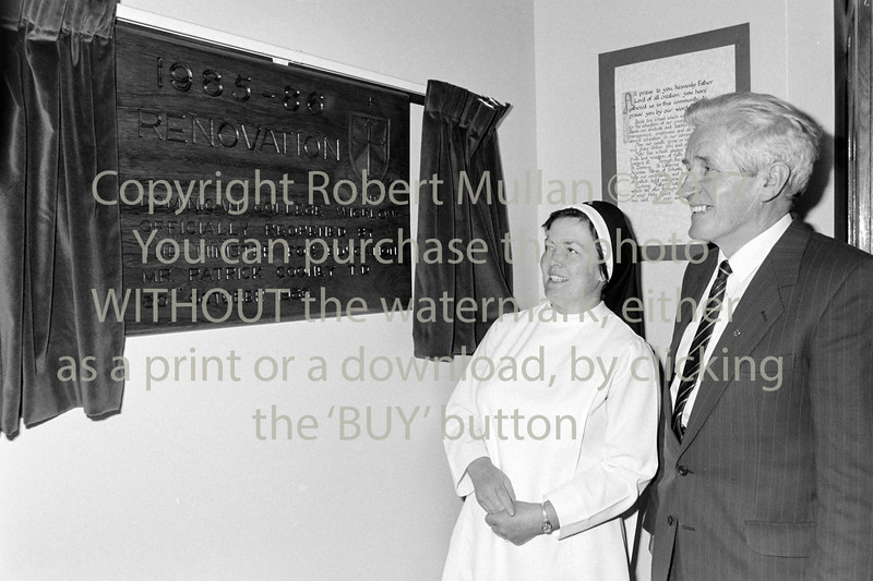 Opening of the extension at the Dominican College, Wicklow 1986