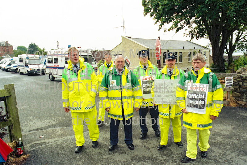 Picketing at Wicklow.  Date unknown