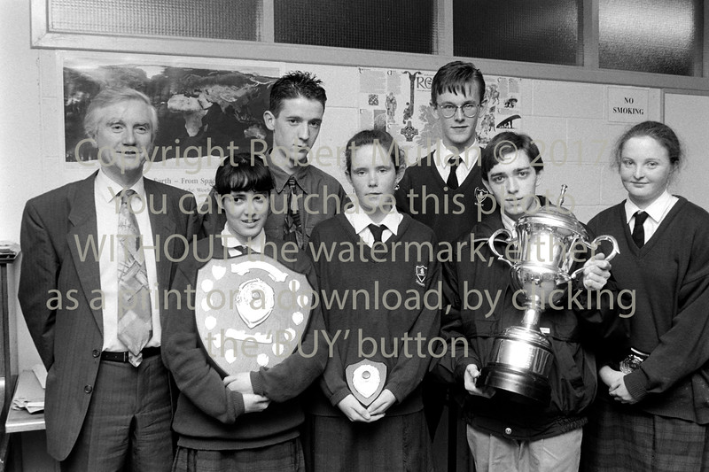 Prize giving at Wicklow Community College - 1980s/90s