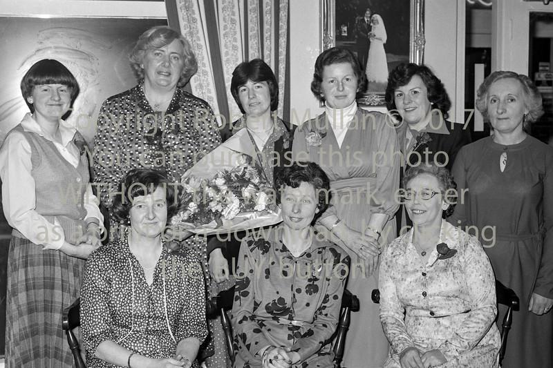 Delahunt's Dinner Dance.  Date 1981
