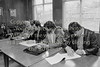 The top table at the Veha workers meeting - 1985