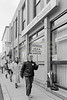 Picketing the Bank of Ireland, Wicklow during a nationwide bank strike - 1980s/90s