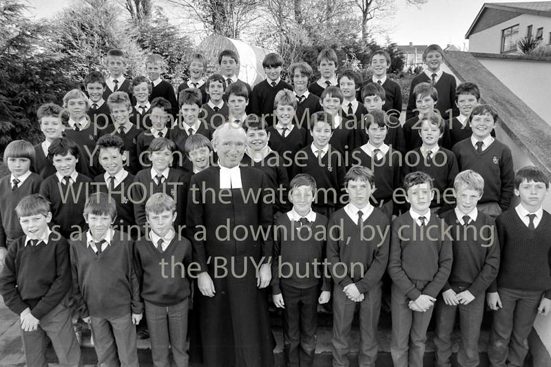 De La Salle students group - circa 1990