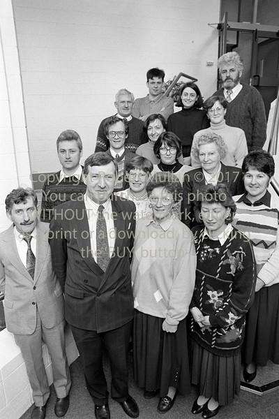Staff of Avondale Community College, Rathdrum - 1980s/90s