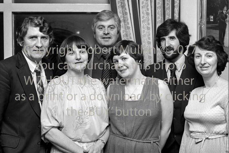 Wicklow INTO Dinner. Date 1981