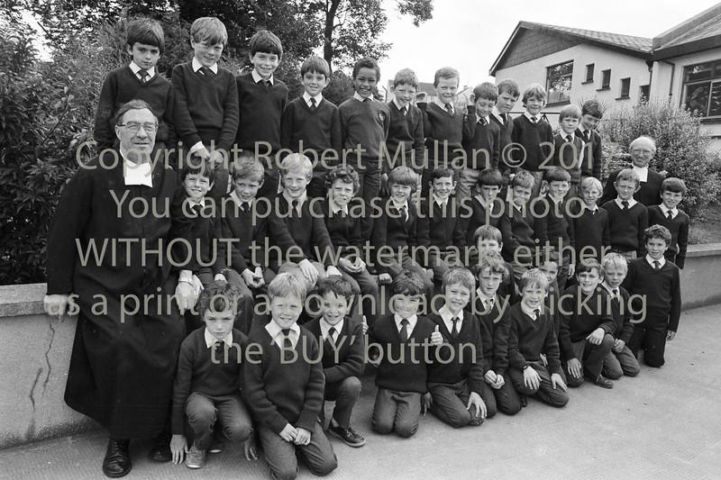 Schoolboys at the De la Salle College, Wicklow- 1980s/90s