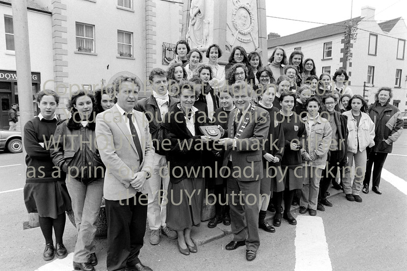 I am afraid I have no details of this group from Wicklow - 1980s/90s