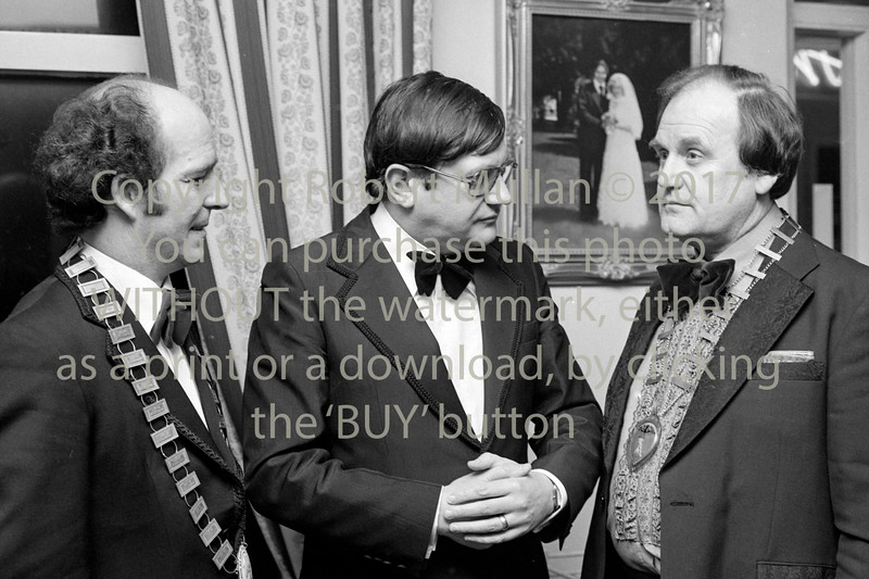 Wicklow Chamber of Commerce Dinner.  Circa 1981