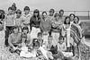 Junior swimmers.  Circa 1980s