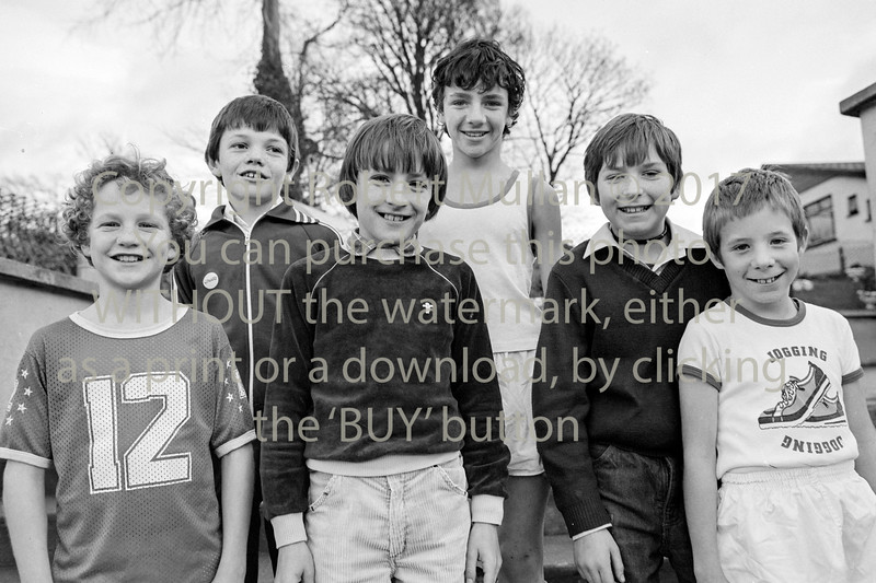 Youngsters from Wicklow.  Circa 1980s