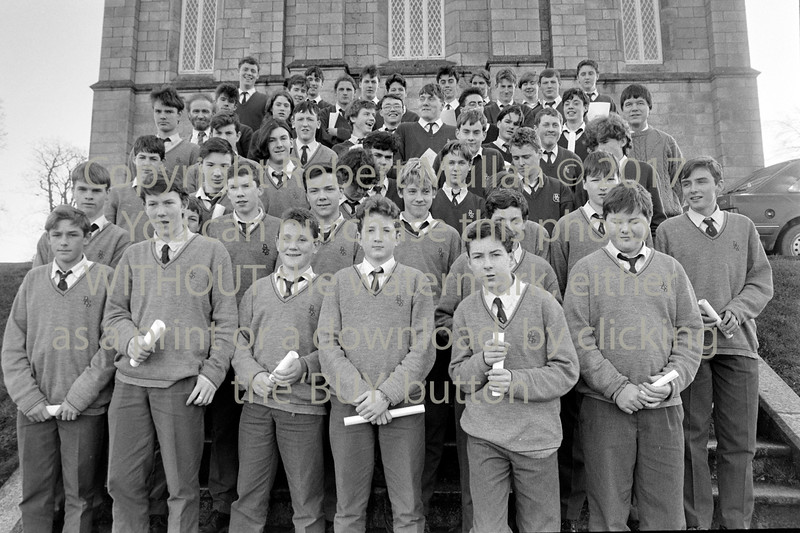 A group schoolboys from Wicklow - 1980s/90s