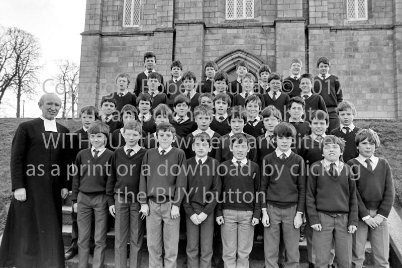 School group, Wicklow - 1980s/90s
