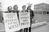 Protest outside Wicklow County Council.  Date unknown