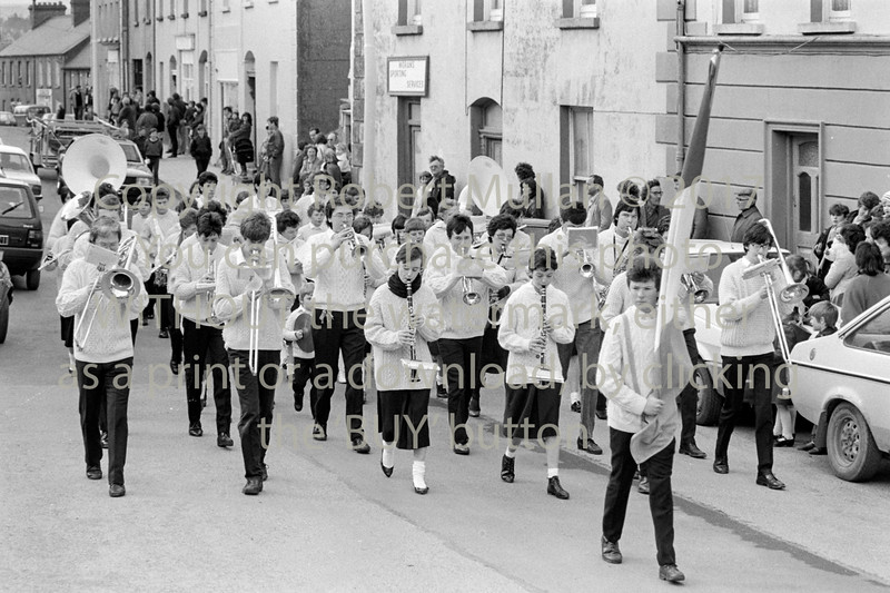 On parade in Wicklow - 1980s/90s