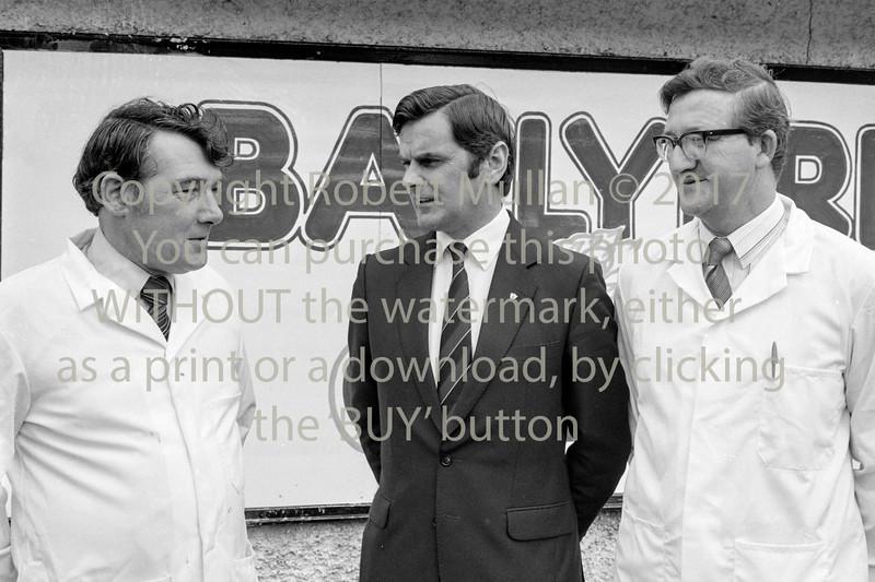 Ray McSharry at Ballyfree Farms.  Circa 1981