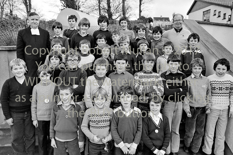 School group.  Circa 1980