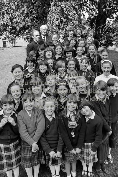 Group from The Holy Rosary School, Wicklow.  Date unknown