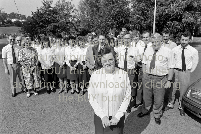 Wicklow County Council retirement.  Date unknown