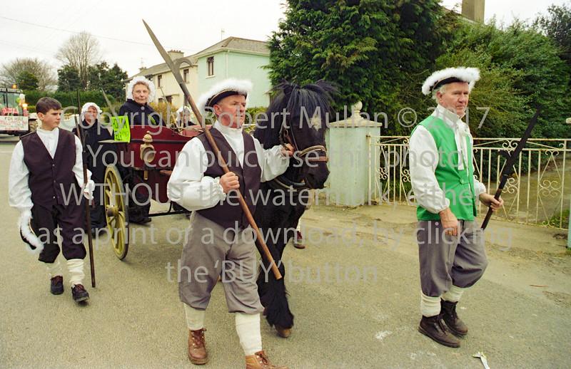 St Patrick's Day Parade, Rathdrum.  Circa 1990s