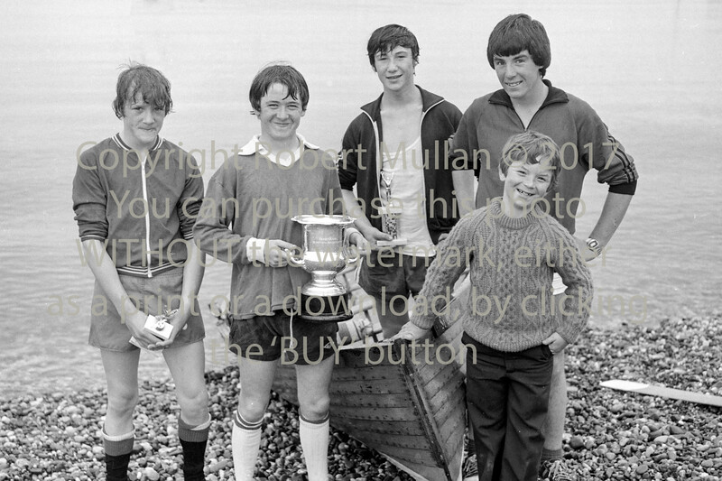 Young rowers Wicklow.  Circa 1979