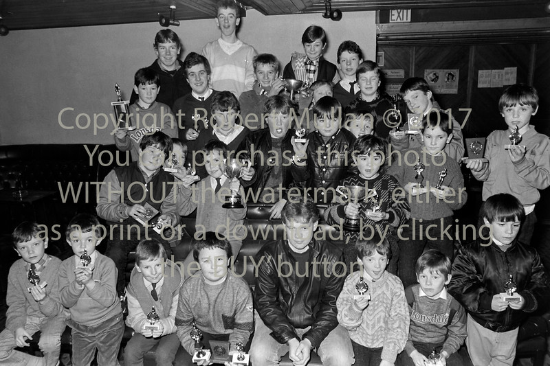 Trophy presentation in Rathnew - date unknown