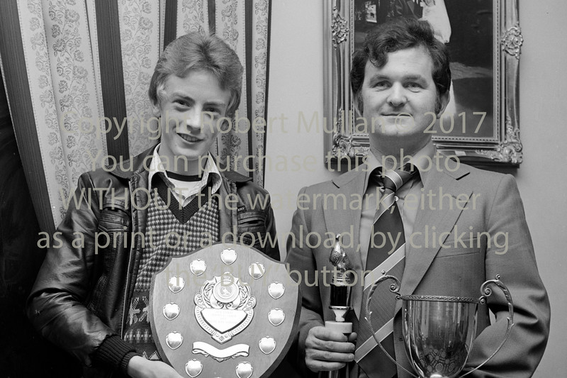 Pigeon Club winners.  Circa 1979