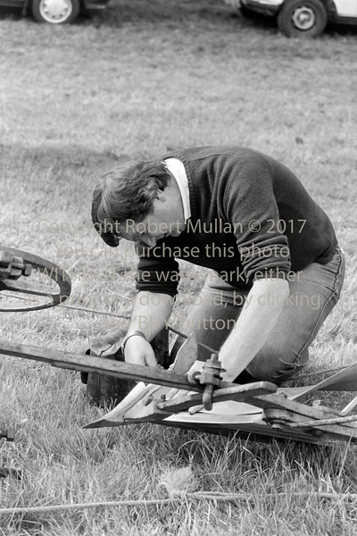 At a ploughing match - 1980s/90s