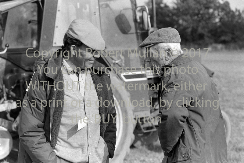 At a ploughing match in Wicklow - 1980s/90s