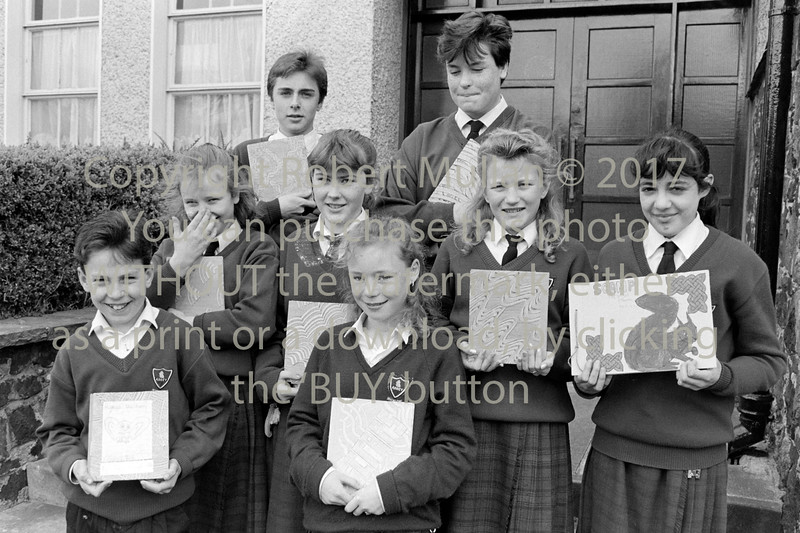 Group at Abbey Community College  - 1980s/90s