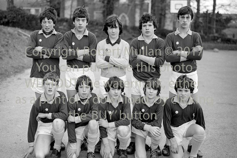 De La Salle team.  Circa 1980s