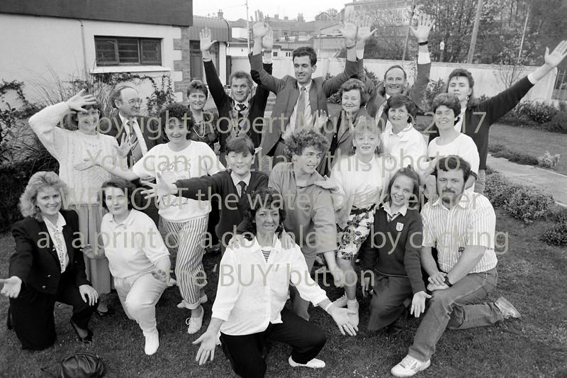 Wicklow Musical Soc's rehersal - 1980s/90s
