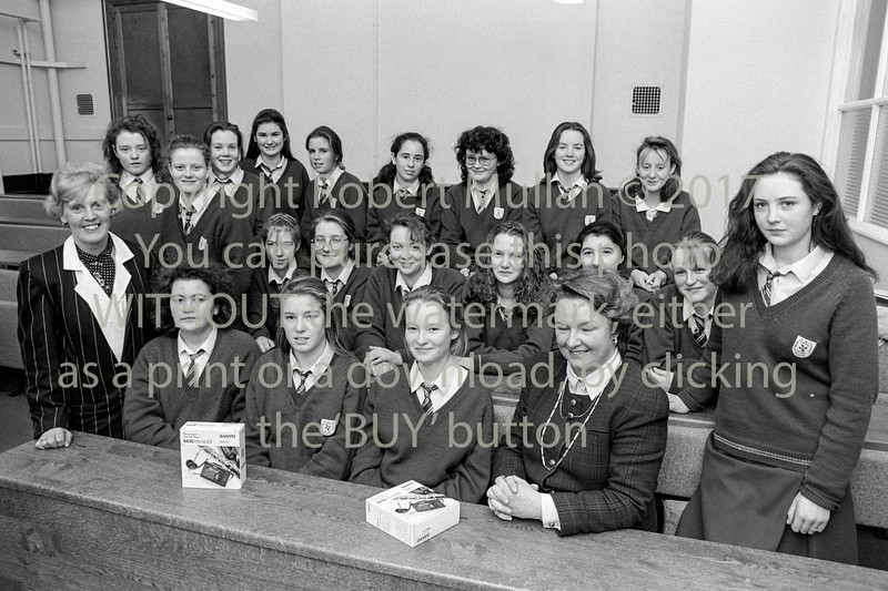 Students from The Dominican College, Wicklow - 1980s/90s