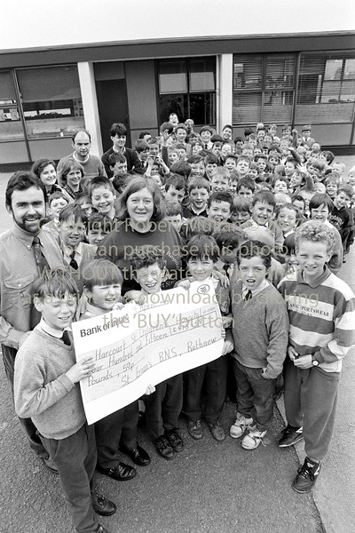 Group in Rathnew National School - 1980s/90s