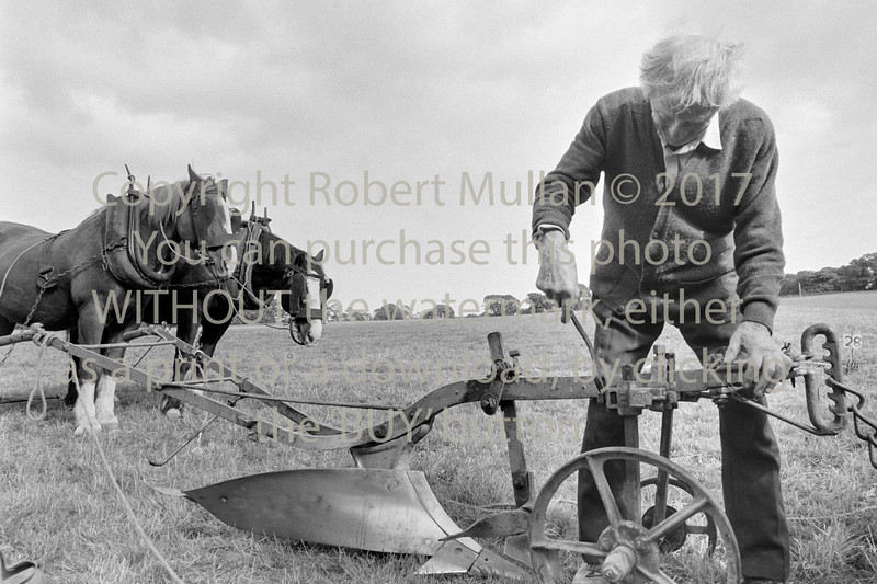 Jack Halpin, Roundwood at a ploughing match - 1980s/90s