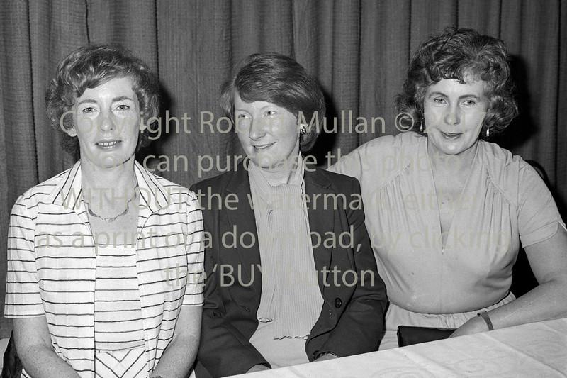 Wicklow Garda Social.  Circa 1980