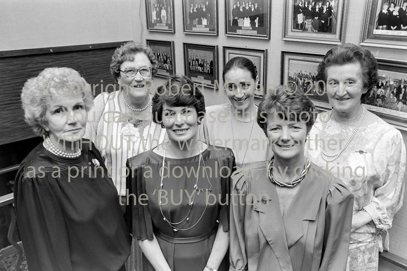 Group of Lady Captains pictured at Blainroe Golf Club - date unknown