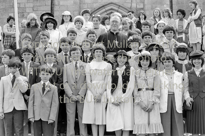 Confirmation group Wicklow - 1980s/90s