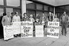 A protest outside Wicklow County Buildings - 1980s/90s