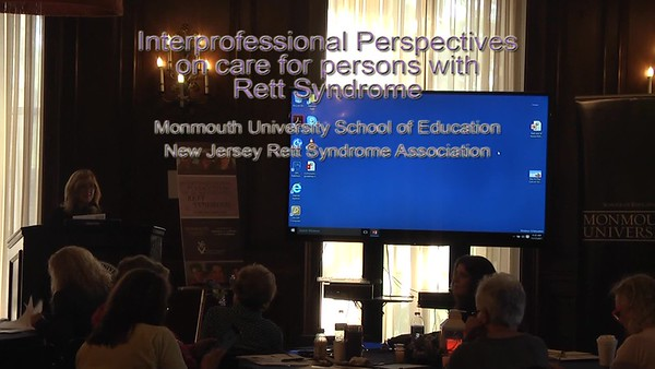 Rett Symposium MU NJRSA Theresa Bartolotta, PhD, CCC-SLP - Part 1 of 2