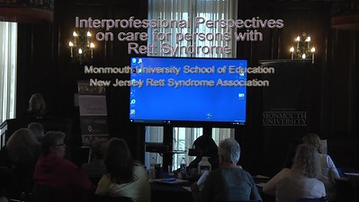 Rett Symposium MU NJRSA Dave Bertone, PT, DPT, OCS part 1 of 2