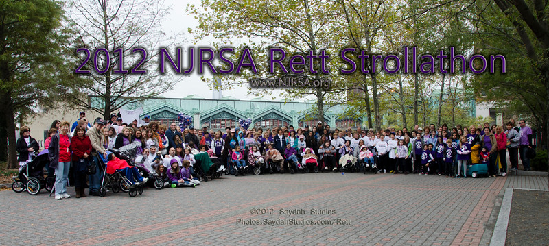 2012 NJRSA Rett Strollathon at Pier A Park in Hoboken, NJ.