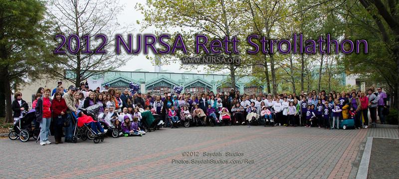 2012 NJRSA Rett Strollathon at Pier A Park in Hoboken, NJ.