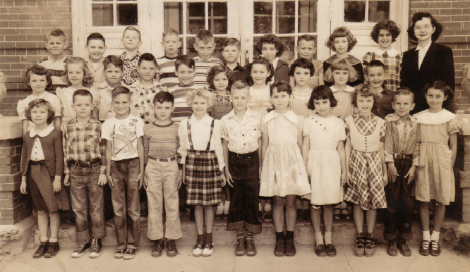 3rd Grade 1951- Mrs Nina Bradley class